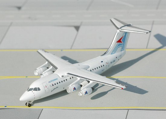 Azzurra BAe-146-200 (1:400) - EI-CNI, Jet X 1:400 Diecast Airliners, Item Number JET221A