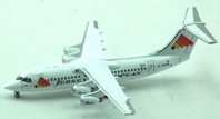 Jersey European Airways BAe 146-200 (1:400), Jet X 1:400 Diecast Airliners Item Number JET369