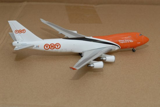TNT 747-400 - OO-THA (1:400), Jet X 1:400 Diecast Airliners Item Number JET428