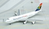 "South African Cargo 747-200F ""Waterberg"" (1:400) ~ ZS-SAR, Jet X 1:400 Diecast Airliners Item Number JET555"