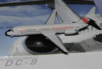 Airborne Express DC-9-30 ~ N989AX (1:400), Jet X 1:400 Diecast Airliners, Item Number JET558