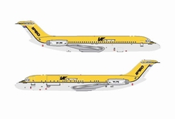 IPEC - Independent Air Freighter of Australia DC-9-30 ~ VH-IPC (1:400), Jet X 1:400 Diecast Airliners, Item Number JET602B