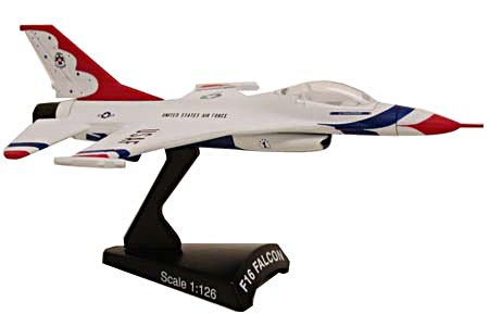 F-16 Falcon Thunderbirds (1:100), Model Power Diecast Planes Item Number MP5399-2