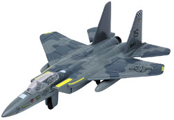 "F-15 Strike Eagle (Approx. 6""), Motormax Diecast Item Number IN-AE15"