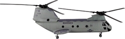 CH-46 Sea Knight - Marines (1:55), New Ray Diecast Item Number NR25897
