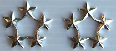 Five Star Rank Sterling, Weingarten Gallery Item Number P-1200