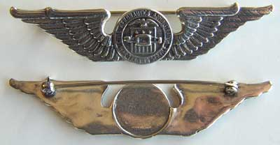 WWII CAA Wright Pilot Training Wing Sterling, Weingarten Gallery Item Number P-1326