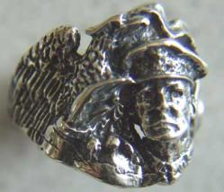 WWII General MacArthur Sterling Silver ring, Weingarten Gallery Item Number P-1512