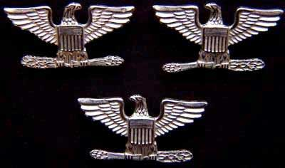 War Eagles Sterling Bright set of 3, Weingarten Gallery Item Number P-1530-3B