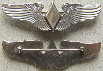WWII WASP Pilot Reunion Wing Sterling, Weingarten Gallery Item Number P-1573