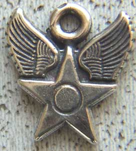 USAF Charm Sterling Silver, Weingarten Gallery Item Number P-1578