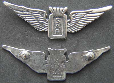 US Vietnam Search and Rescue WIng Sterling, Weingarten Gallery Item Number P-1637