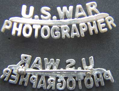 WWII War Photographer Sterling, Weingarten Gallery Item Number P-1652