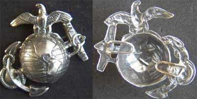 USMC - EGA 1875 Design Sterling, Weingarten Gallery Item Number P-1674
