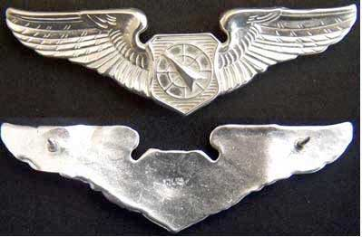 USAF Air Battle Management Wings Sterling 3 inch, Weingarten Gallery Item Number P-1706B