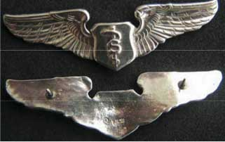 Flight Surgeon Master Physiologists Wings, Weingarten Gallery Item Number P-1784