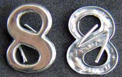 Civil War Insignia 8 Sterling, Weingarten Gallery Item Number P-1814