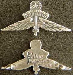 US Halo Master Badge Mess Dress Sterling, Weingarten Gallery Item Number P-1949M
