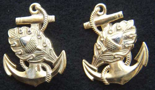 WWII US Navy Nurse Sterling with Gold Plate, Weingarten Gallery Item Number P-2086