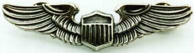 WWII Pilot Meyer Design Sterling, Weingarten Gallery Item Number P-339