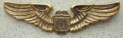 Ohio State Patrol Sterling Silver with GP Wing, Weingarten Gallery Item Number P-937G