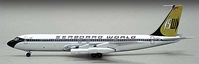 "Seaboard World 707-300C ""N7322S"" (1:400), Witty Wings 400 Item Number WTW-4-707-001"
