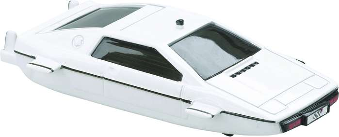 "James Bond Lotus Esprit Submarine, The Spy Who Loved Me (Approx 3"" Long), Corgi Entertainment Diecast Item Number TY95702"