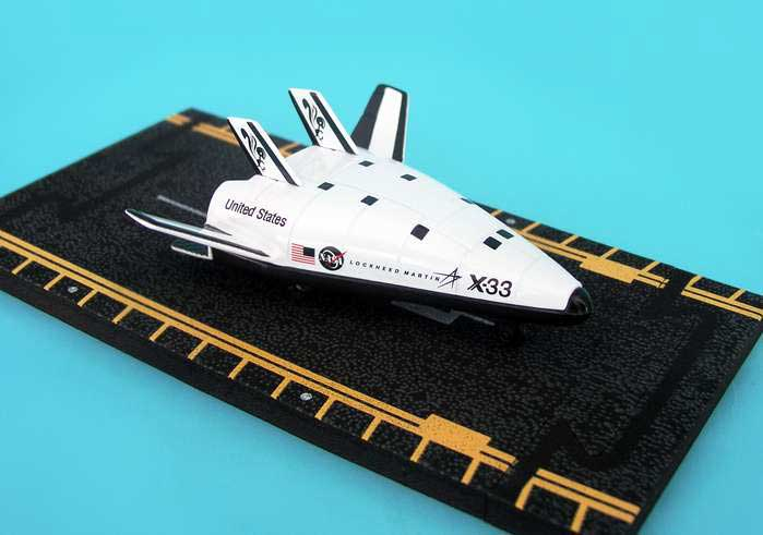 "X-33 (Approx. 5""), Hot Wings Toy Airplanes Item Number HW12102"