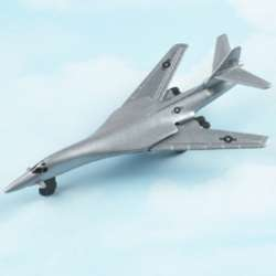 "B-1B Lancer - Silver (Approx. 5""), Hot Wings Toy Airplanes Item Number HW14117"