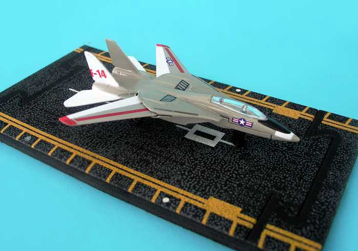 "F-14 Tomcat (With  Military Markings)  (Approx. 5""), Hot Wings Toy Airplanes Item Number HW14115"
