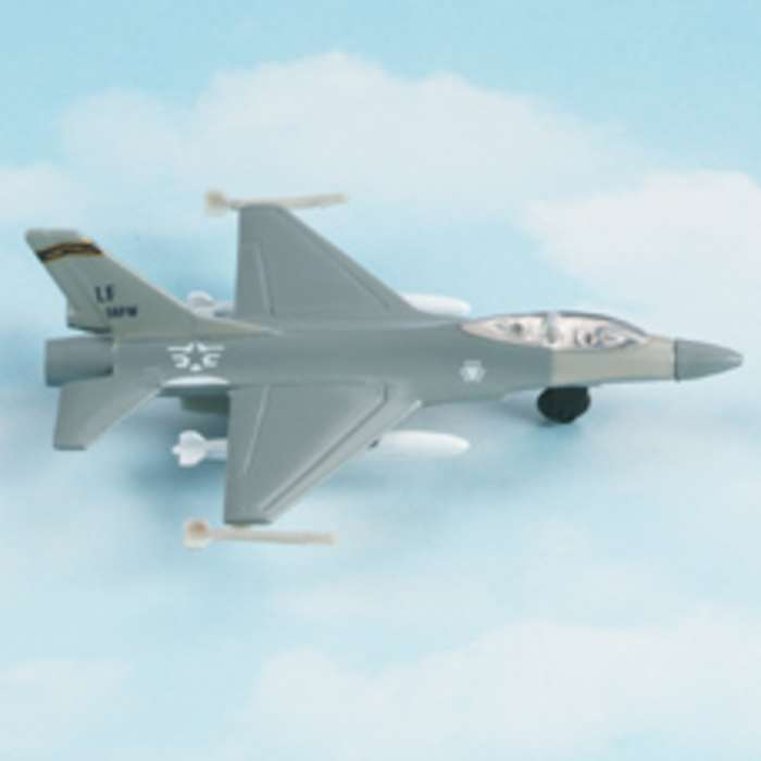 "F-16 Falcon - Military Markings (Approx. 5"") by Hot Wings Toy Airplanes"