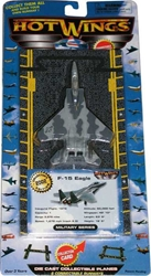 "F-15 (Air Force)  (Approx. 5""), Hot Wings Toy Airplanes Item Number HW14120"