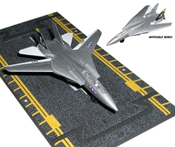 "F-14 Tomcat Jolly Rogers Air Wing 8 (Approx. 5""), Hot Wings Toy Airplanes Item Number HW14126"