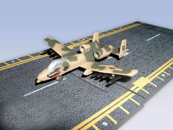 "A-10 Thunderbolt II (Approx. 5""), Hot Wings Toy Airplanes Item Number HW14133"