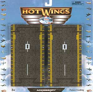 "Hot Wings Runway Accessory (4 6"" pieces), Hot Wings Toy Airplanes Item Number HW16101"