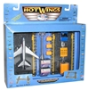 "Hot Wings Airport Playset (Approx. 5""), Hot Wings Toy Airplanes Item Number HW19101"