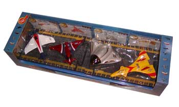 Experimental Series Gift Set, Hot Wings Toy Airplanes Item Number HW19203