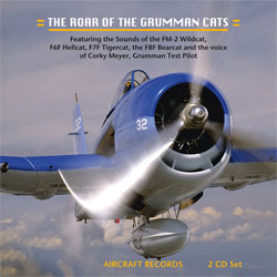 The Roar of the Grumman Cats (2 CD set), Aircraft Records Item Number AC-1016