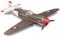 P-40 Warhawk (1:72) Easy Build Model Kit, Easy Build Toy Airplane Models Item Number IN-EZP40