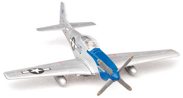 P-51 Mustang Model Airplane Kit (1:48) Easy Build, Easy Build Toy Airplane Models Item Number IN-EZP51