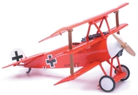 Fokker Dr 1 (1:48), Easy Build Model, Easy Build Toy Airplane Models Item Number IN-EZDR1