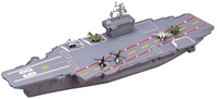 "18"" Aircraft Carrier Play Set, Motormax Diecast Item Number MO-AC18"