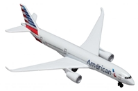 "American Airlines Airbus A350 Airliner - New Colors (5"") by Realtoy Diecast Toys item number: RT1667"