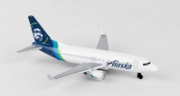 "Alaska Airlines Airliner - New Livery (5"") by Realtoy Diecast Toys item number: RT3994-1"