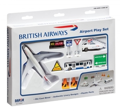 British Airways Airport Playset by Realtoy Diecast Toys item number: RT6001