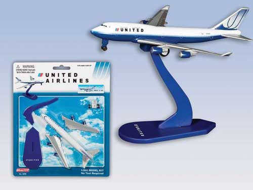 United AirlinesPullback Model Kit