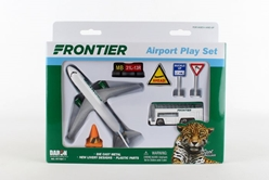 "Frontier Airlines Playset ""Spot The Jaguar"" by Realtoy Diecast Toys item number: RT7591-1"