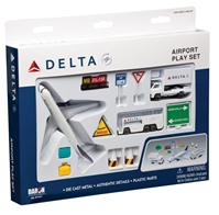 Delta 12 Piece Playset, Realtoy Diecast Toys Item Number RT4991