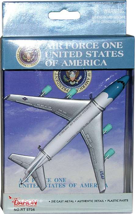 "Air Force One (5""), Realtoy Diecast Toys Item Number RT5734"