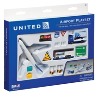 United 12 Piece Playset, Realtoy Diecast Toys Item Number RT6261